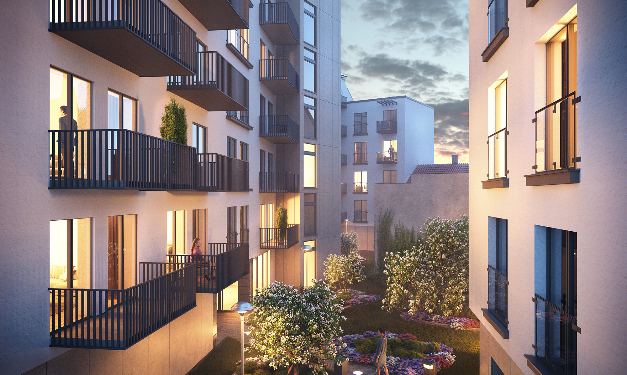 Wizualizacja Lwowska 10 Residence